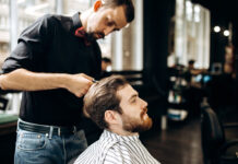 Peleryny fryzjerskie